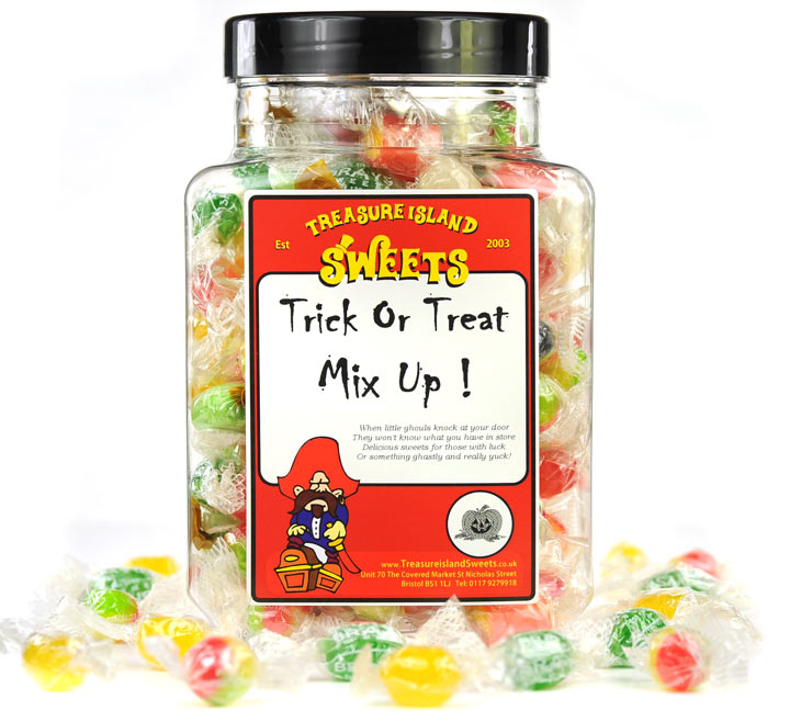 Trick Or Treat Mix Up Sweet Jar