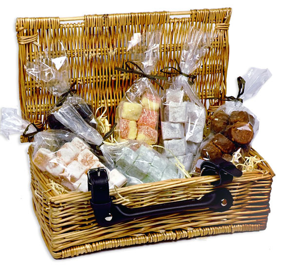Turkish Delight Wicker Hamper