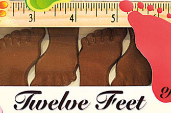 Twelve Feet Of Chocolate