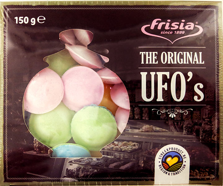 Flying Saucers (AKA UFO's) Gift Box 150grams