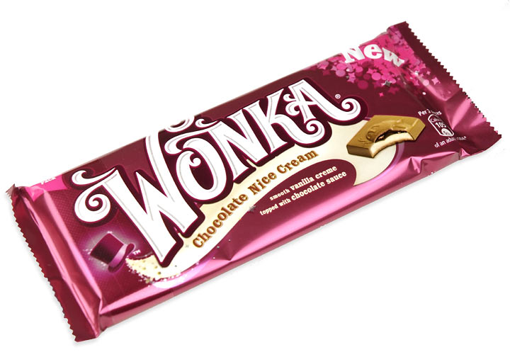 Wonka Bar Chocolate Nice Cream - Treasure Island Sweets ...