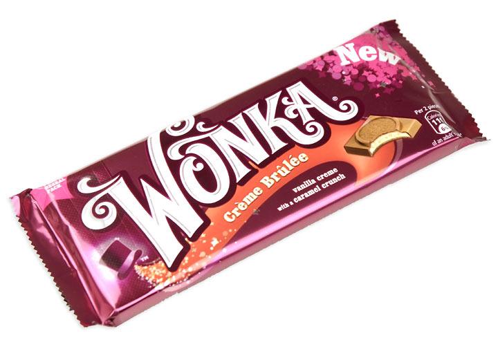 Wonka Bar Creme Brulee Treasure Island Sweets Ltd