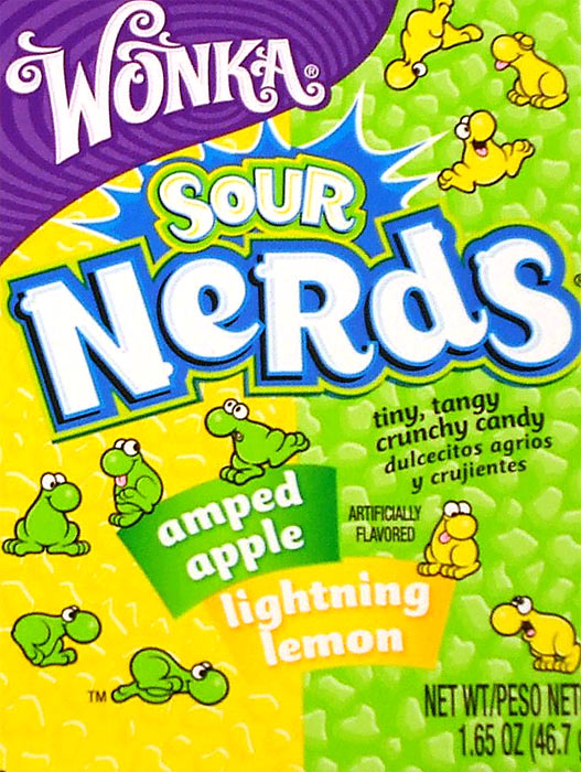 Sour Apple and Lemon Nerds