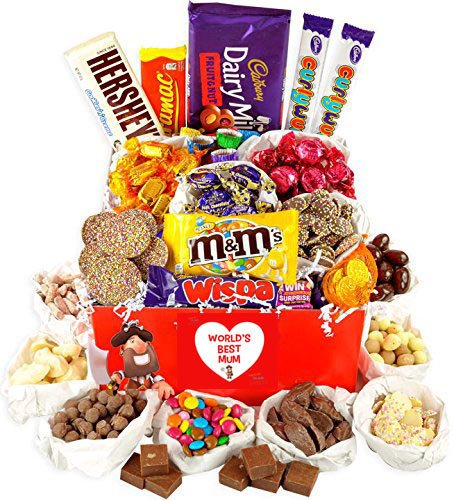 World's Best Mum Giant Chocolate Hamper