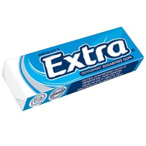 Wrigleys Extra Peppermint Chewing Gum Pack Of 30