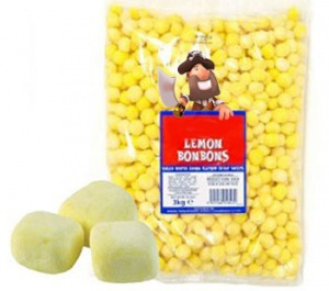Lemon Bonbons (Soft & Chewy)