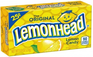 Lemonheads The Original Lemon Candy