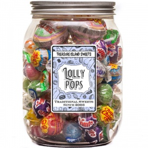 Lollipop Selection Jar (70+ Lollies)
