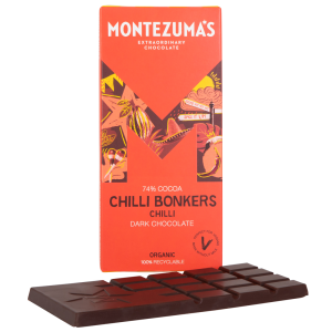 Montezumas 'Chilli Bonkers' 74% Dark Organic Chocolate