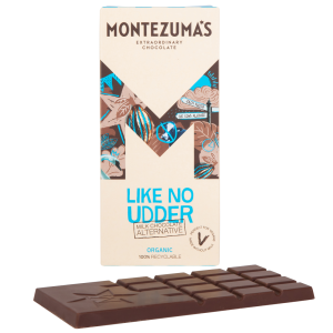Montezumas 'Like No Udder ' Vegan Milk Chocolate Alternative Bar