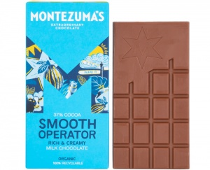 Montezumas 'Smooth Operator' 37% Organic Milk Chocolate