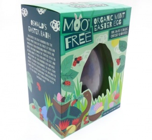 Organic Easter Egg - Dark Mint Moo Free