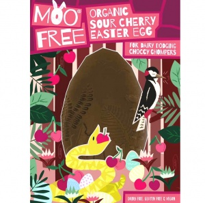 Vegan Organic Sour Cherry Easter Egg