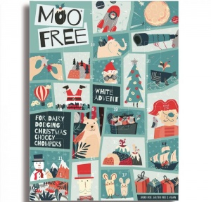 Moo Free Advent Calendar (Vegan White Chocolate)