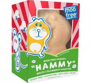 Moo Free Dairy Free White Strawberry Hammy Easter Egg