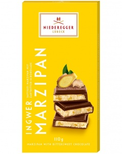 Niederegger Ginger Marzipan in Dark Chocolate