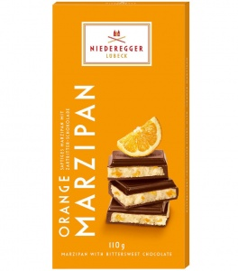 Niederegger Orange Marzipan In Dark Chocolate