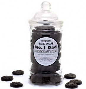 No.1 Dad Pontefract Cakes - Victorian Sweet Jar