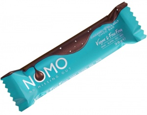 Nomo Caramel & Sea Salt Vegan & Nut Free Chocolate Bar