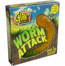 Giant Gummy Worm 800gram Super Size