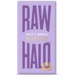 Raw Halo Mylk & Vanilla Organic Raw Chocolate Bar 35g