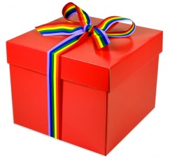 Create Your Own Rainbow Hamper