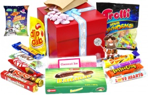 Retro Sweets & Chocolate  Hamper