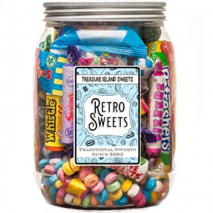 Retro Sweets Selection Jar