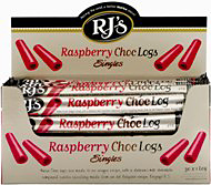 RJ's Soft Raspberry Liquorice Choc Log 40g