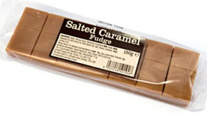 Salted Caramel Fudge Bar