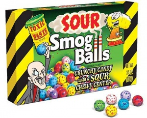 Sour Smog Balls (85g Gift Box) ) (Best Before 30.09.20)
