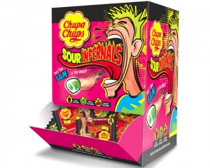 Sour Infernals Intense Sour Chewing Gum