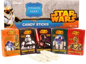 Star Wars Candy Sticks