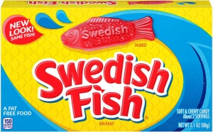Swedish Fish (USA Candy Import)