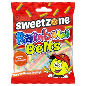Rainbow Belts Super Fruity & FIzzy (Sweetzone)