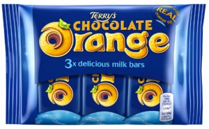 Terry's Chocolate Orange Bars (3 Pack)
