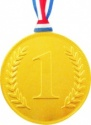 Gold Chocolate Medals 100mm