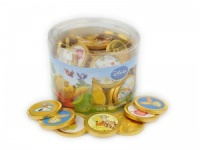 Chocolate Winnie The Pooh Coins Tub Of 60