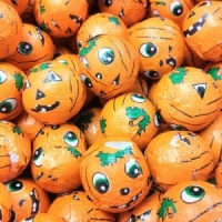 Mini Chocolate Flavour Pumpkins (600 balls) 3Kg
