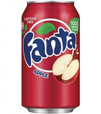 Fanta Apple USA Soda Can 355ml