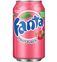 Fanta Fruit Punch USA Soda Can 355ml