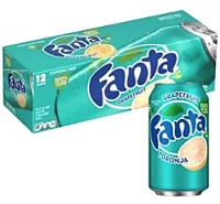 Fanta Grapefruit USA Soda Can 355ml