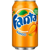 Fanta Mango USA Soda Can 355ml