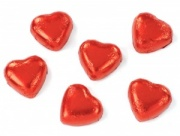 Red Hearts - Box Of 100 - Caramel Truffle Centre