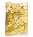 Gold Coins Milk Chocolate x 135pcs (1Kg Bag)