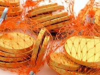 Chocolate Coins Bulk Box 60 Nets