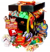 Two Beards Giant Halloween Sweet Hamper