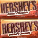 Hershey Cookies and Chocolate Bar