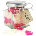 Heart Shaped Jelly Beans In A Gourmet Gift Jar