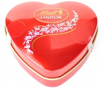 Lindor Heart TIn  For Mother's Day With Truffles